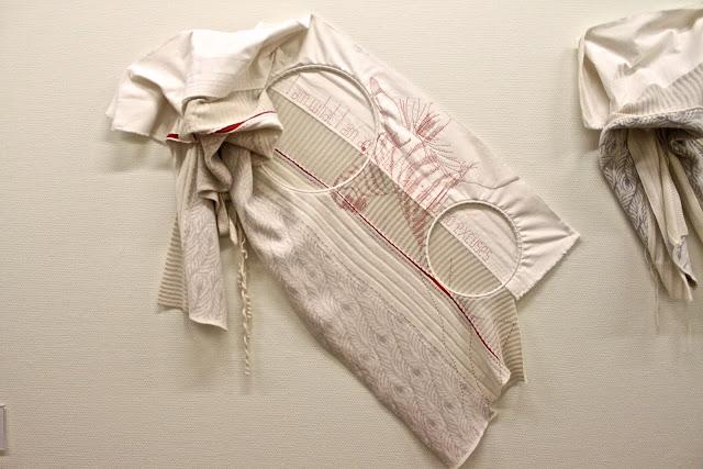 Stephanie Wooster, embroidery, zebra