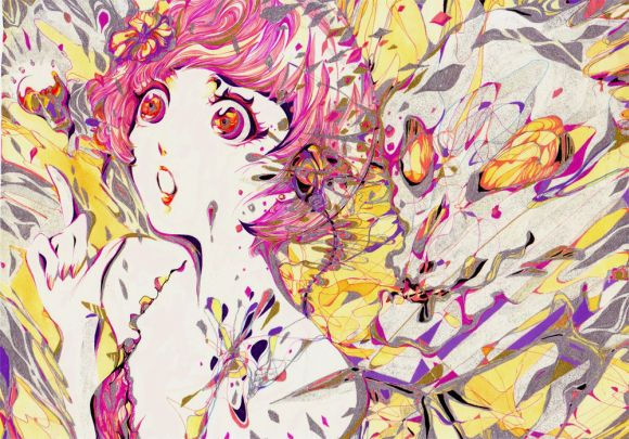Charmal ilustrações mulheres garotas estilo anime mangá Ideia