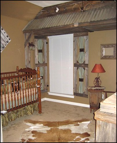 cowboy theme bedroom decorating - Ranch Style Decor