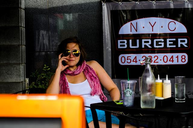 Pohang Western Food hamburgers Yangduk NYC Cafe