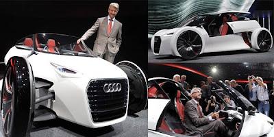 Kereta Konsep Audi Spider