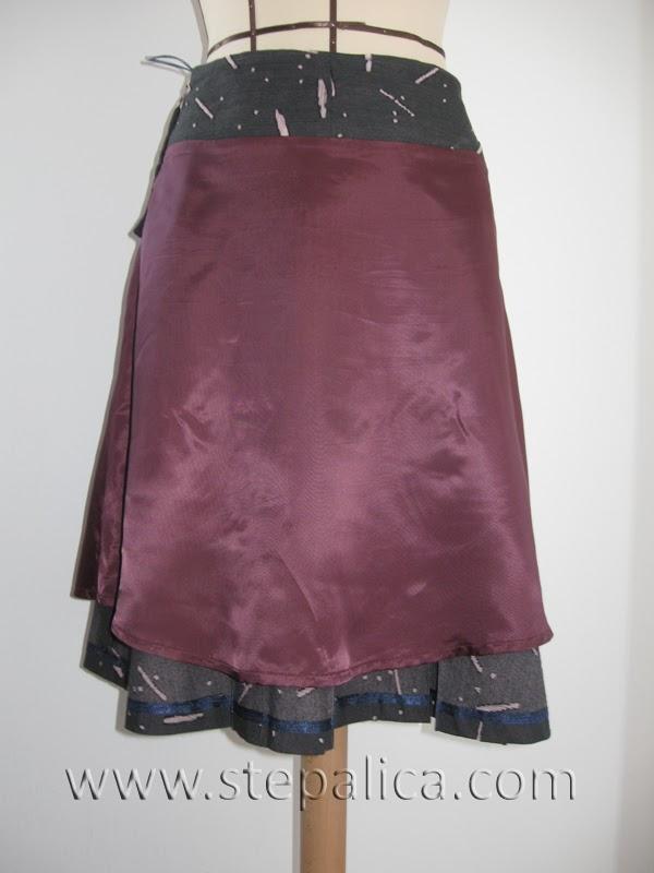 Štepalica: Zlata kroj za suknju - varijacija A
