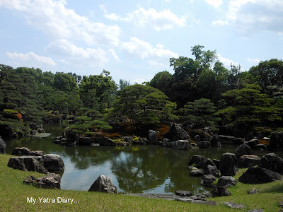 Ninomaru Garden, Nijo Castle in Kyoto, Japan
