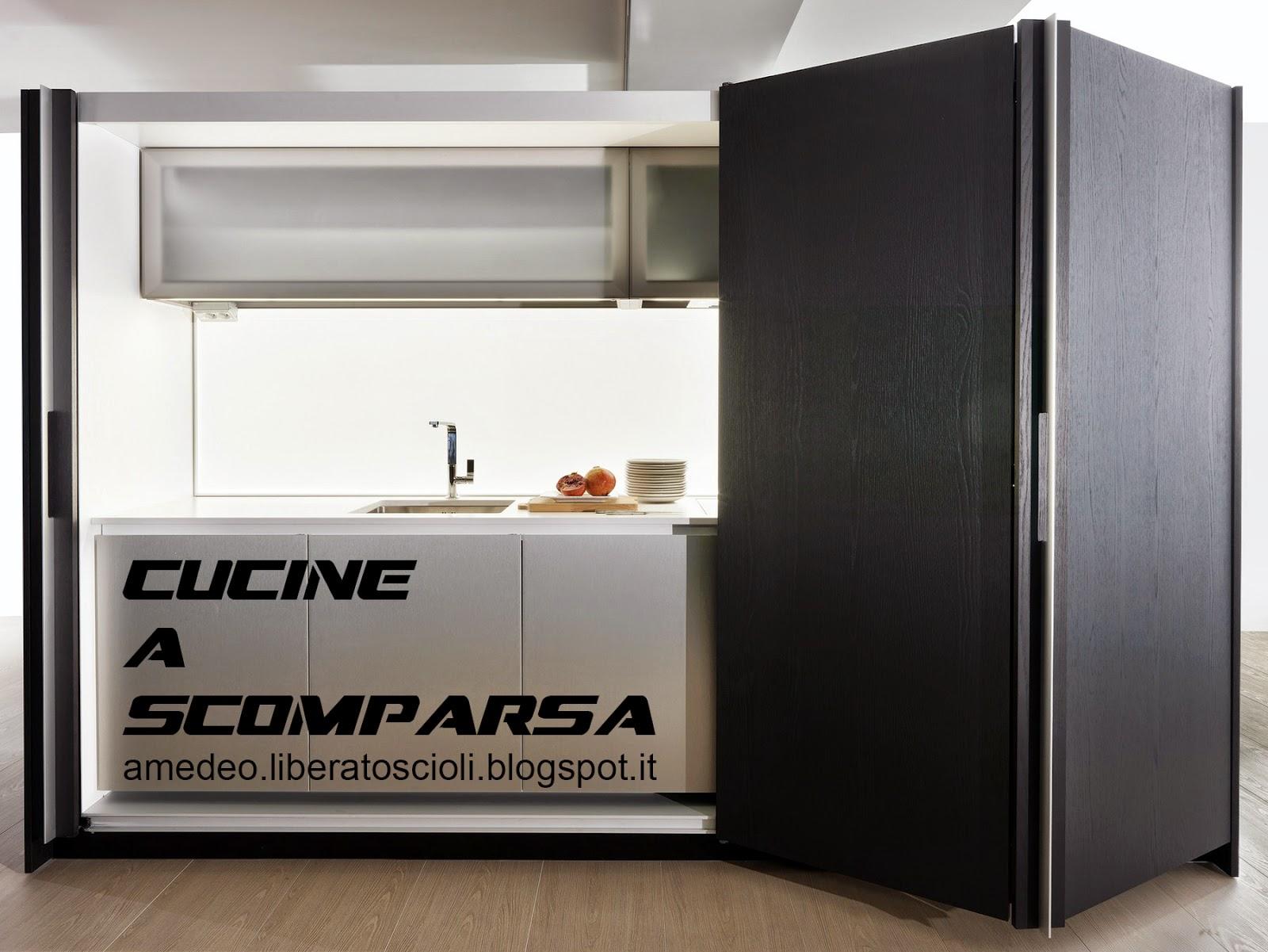 le cucine a scomparsa sono delle cucine compatte che hanno la ...