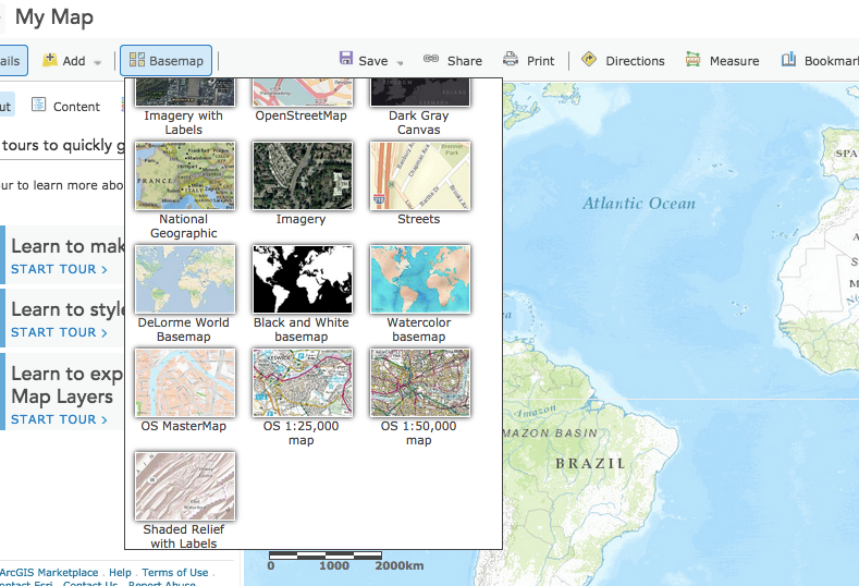 Google earth users guide project with arcgis online and digimap for some new base maps have now been added to arcgis online youll need an institutional subscription to see them gumiabroncs Images