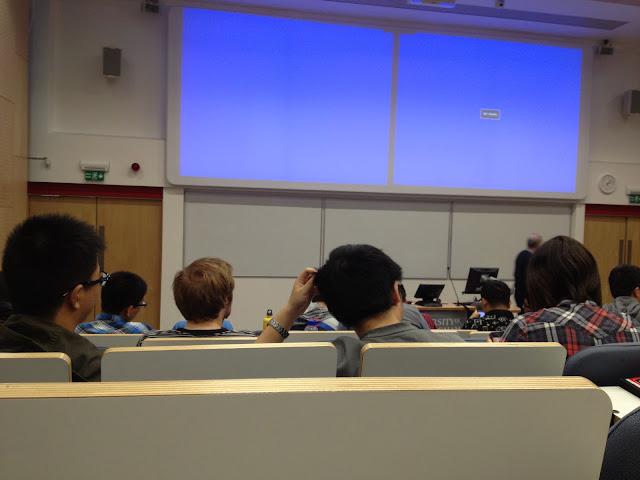 Lecture Room University of Birmingham