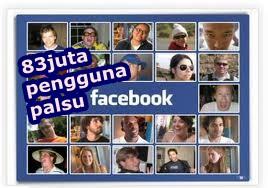 Facebook Mempunyai 83 Juta Akun Palsu