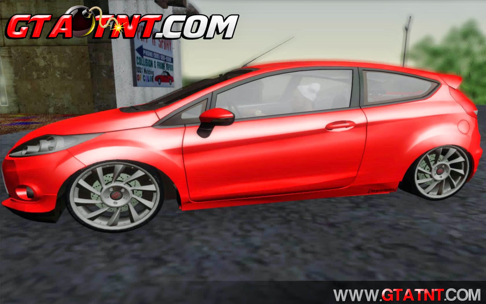 Ford Fiesta Turkey Drift Edition para GTA San Andreas