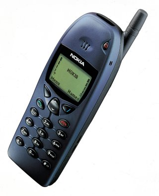 Old Nokia 6110 Classic Mobile Picture