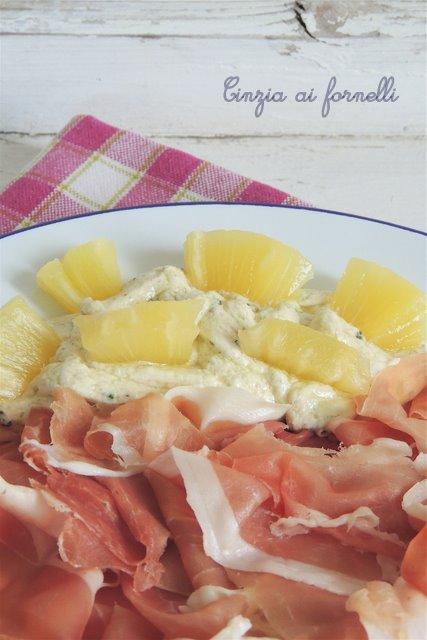 crema formaggio e basilico