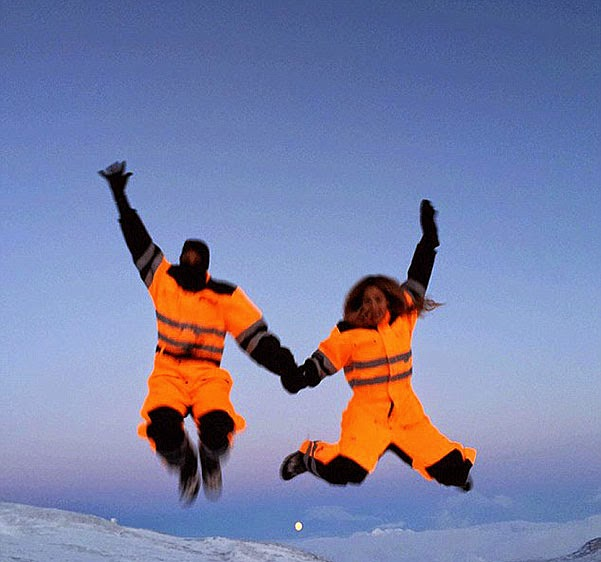 Snow, spa and sunsets Beyonce and Jay-Z were in Iceland