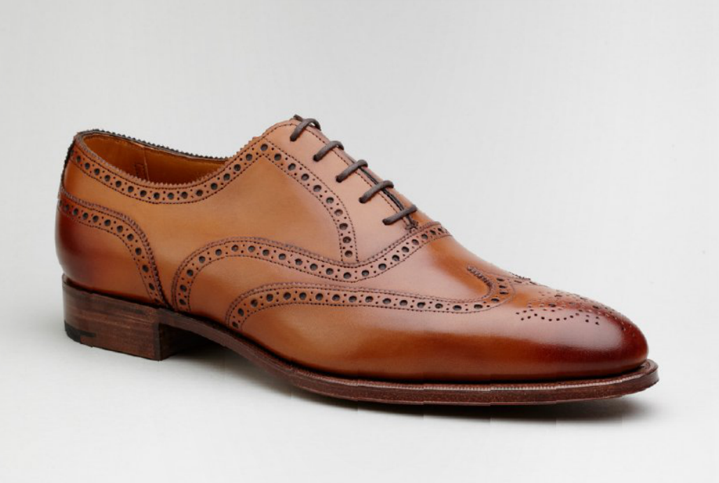 ZAPATO BROGUE MARRON EDWARD GREEN