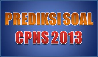 Soal CPNS 2013
