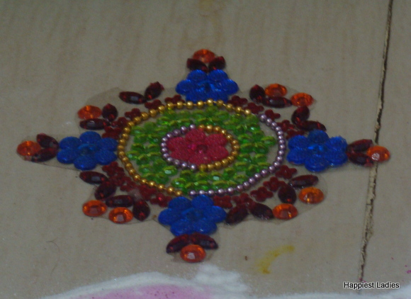 rangoli sticker