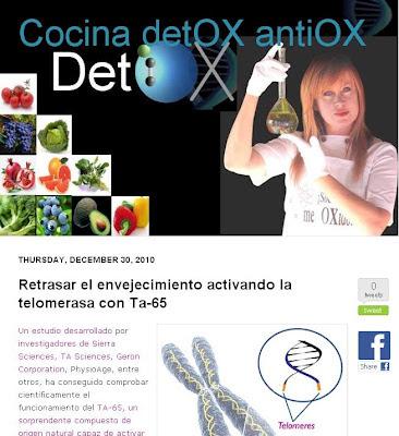 Blog Cocina DetOX antiOX de Esmeralda Díaz-aroca