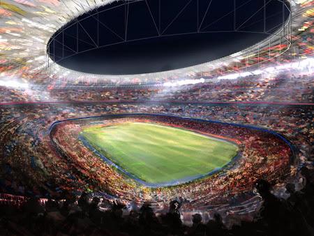 barcelona camp nou stadium