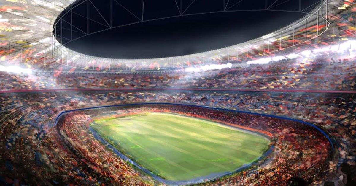 Gambar Stadion Camp Nou Barcelona