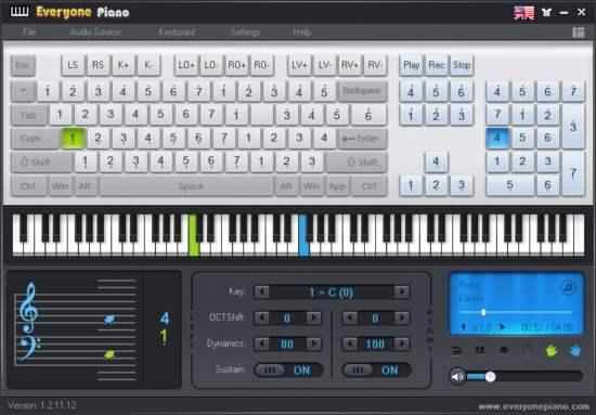 Everyone Piano. Aprender a tocar piano con el teclado de tu computadora