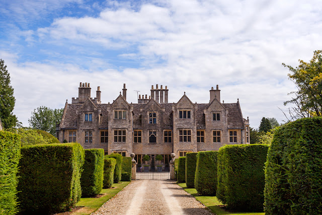 Shipton Court at Shipton under Wychwood by Martyn Ferry Photography