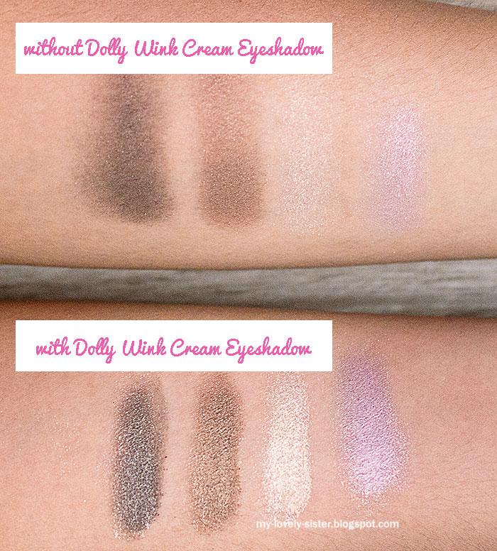 Dolly Wink Cream Eyeshadow ini bisa dipakai sebagai base/ dasar ...