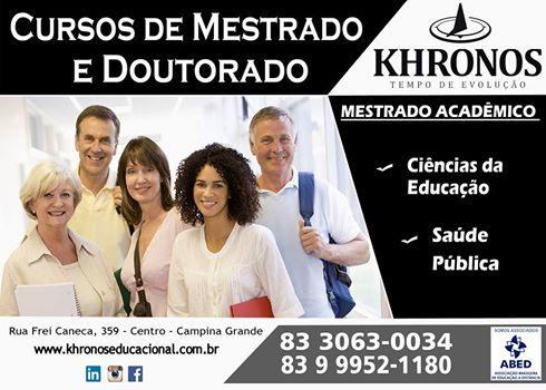 KHRONOS EDUCACIONAL - Mestrado e Doutorado