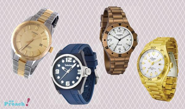 mulheres com relógios masculinos - tendência - maxi relogio - relogio grande - pulseirismo