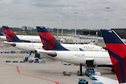 Delta Airlines @ Amsterdam 2012 (img )