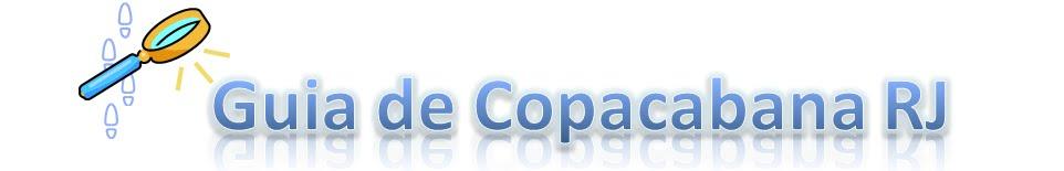 Guia de Copacabana RJ