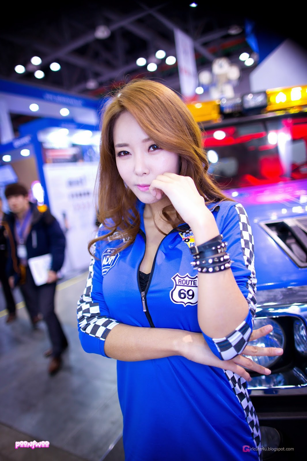 3 Lee Da Hee - World Security Expo - very cute asian girl-girlcute4u.blogspot.com