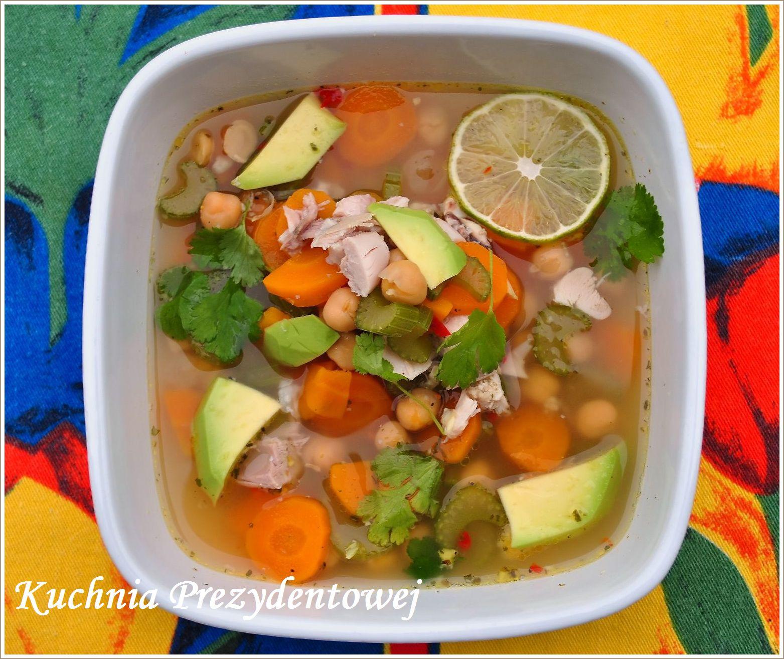 Kuchnia Prezydentowej Meksykańska Zupa Z Kurczakiem I