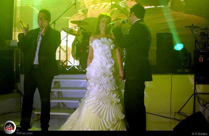 زوجه محمد حماقي 2013,محمد حماقي وزوجته بالصور 2013 farah%2BMohamed%2BHa