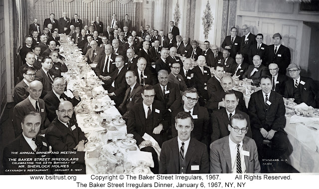 The 1967 BSI Dinner group photo