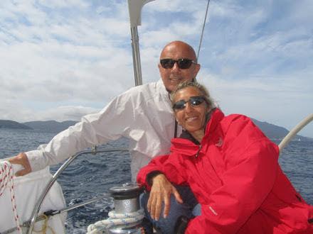 L'equipaggio: Tania e Roberto