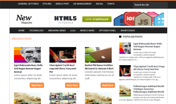 News magazine blogger template templateism news magazine blogger template maxwellsz