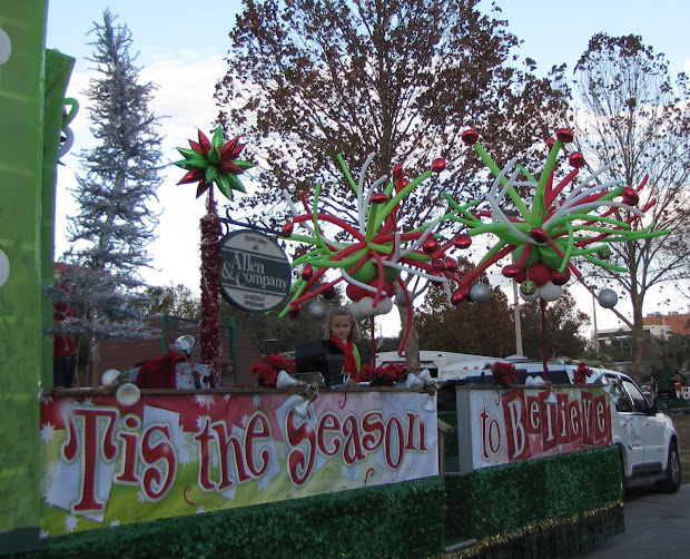 christmas parade float ideas