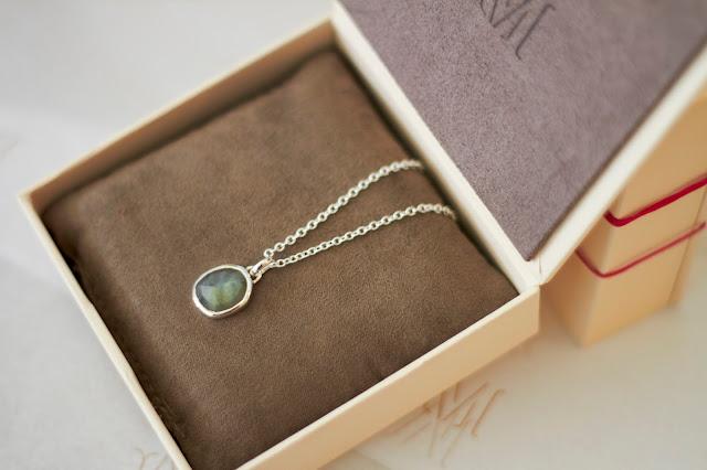 Monica Vinader jewellery labradorite necklace