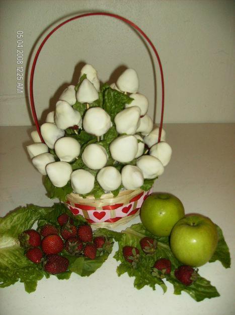 Postres sencillos buscar con google mi pareja for Centros de mesa con frutas
