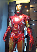 Iron Man Mark IV suit on display. (iron man mark iv)
