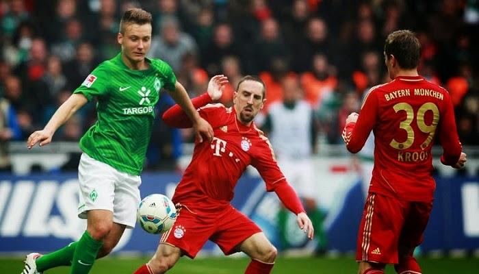 Werder Bremen vs Bayern Munich en vivo