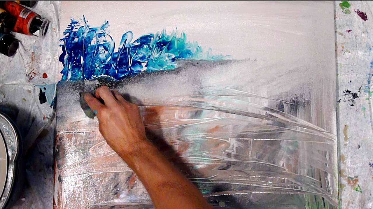 Abstract paintings by peter dranitsin creating stunning for Abstract watercolor painting tutorial