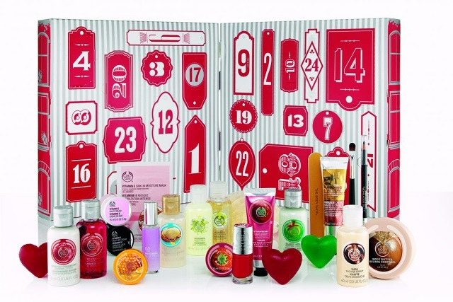 joulukalenteri 2018 the body shop The Body Shop Beauty Advent Calendar Christmas 2014 | Polka Spots  joulukalenteri 2018 the body shop