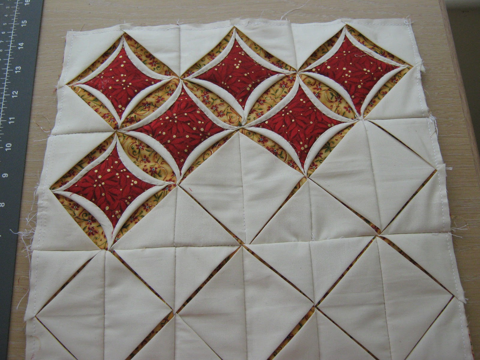 Quilt Times: Cathedral Windows ...