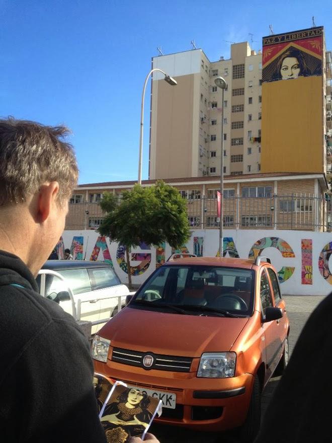 OBEY y D*Face en Málaga