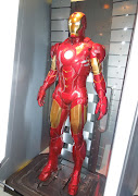 This Iron Man suit was photographed on April 17, 2013 as part of Tony .