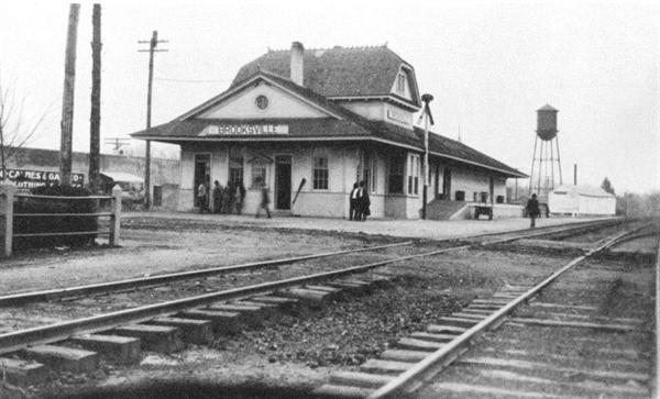 Brooksville, MS Train Depot  Hickory Ridge Studio