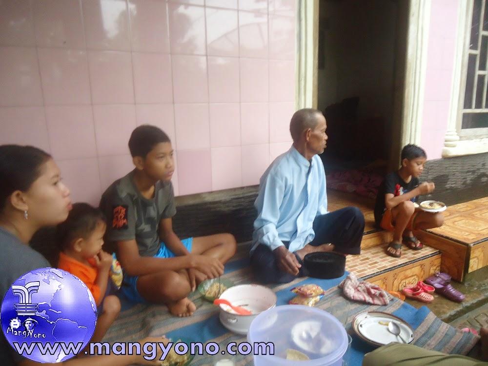 Sarapan pagi bersama saudara di Banten