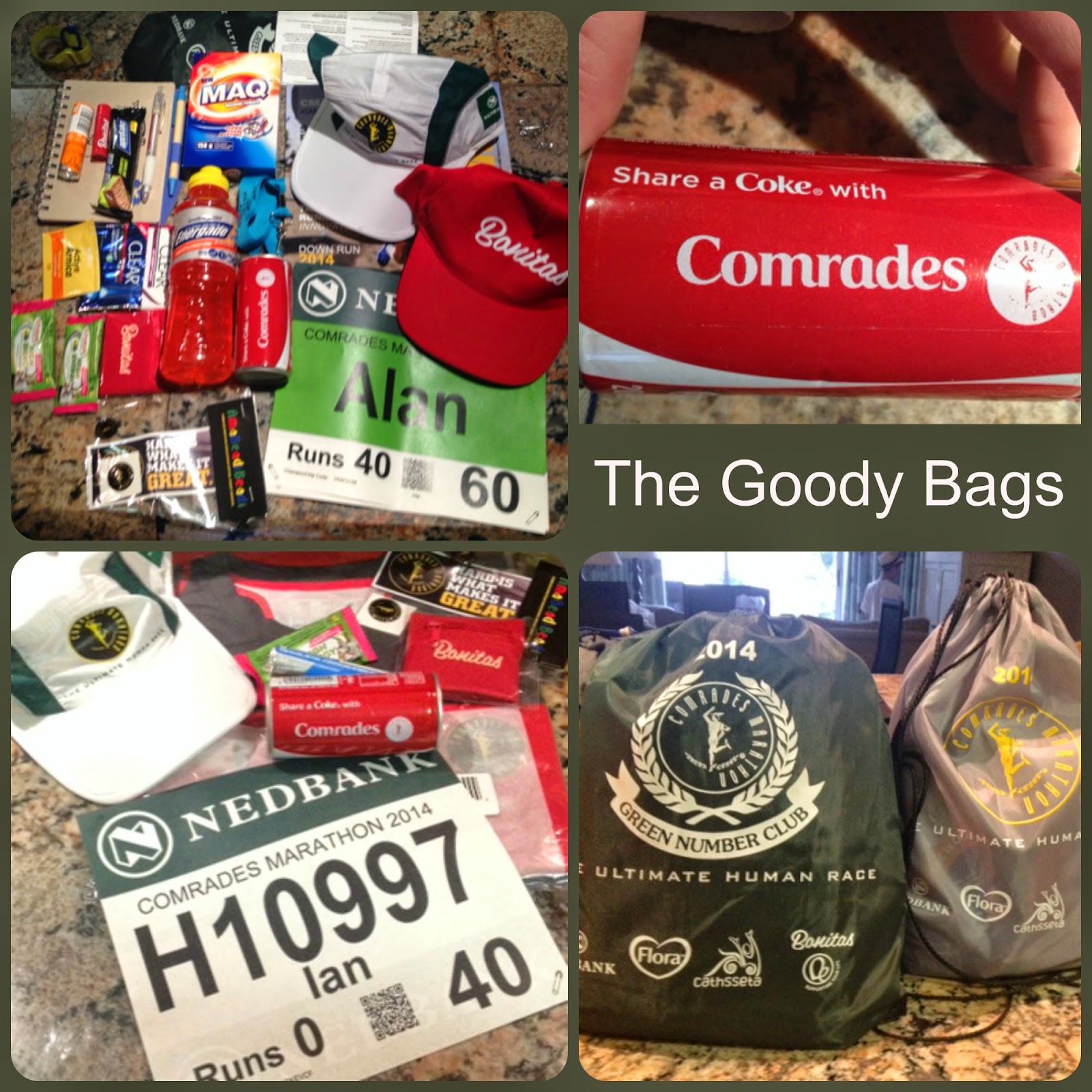 Comrades Goody Bag 2014