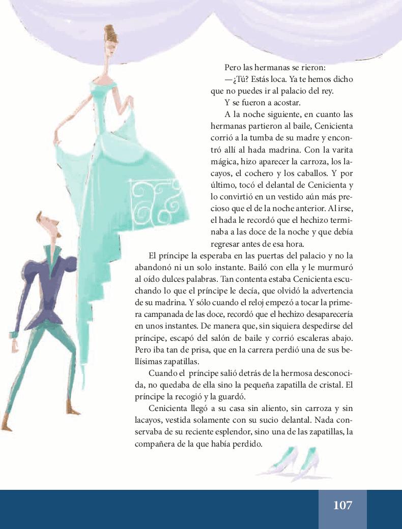 La Cenicienta - Español Lecturas 6to 2014-2015