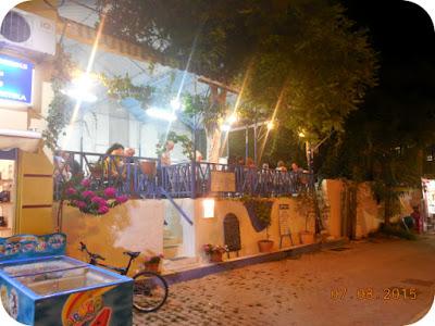 taverna mai retrasa in Limenaria