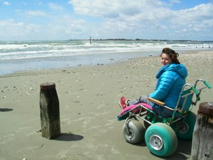 Easy Access, Disabled Travel, Wheelchair Walk on West Wittering Beach